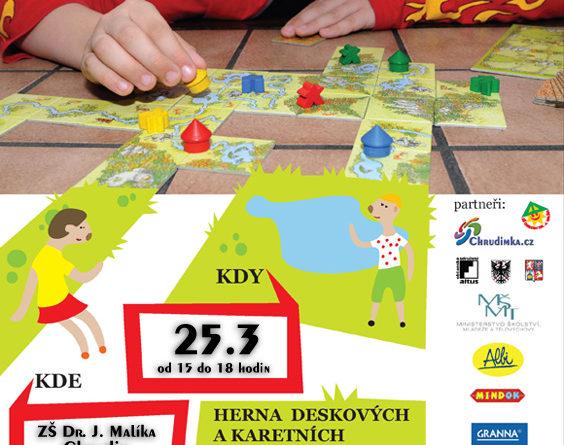 Plakát herny Hrajeme si s Chrudimkou