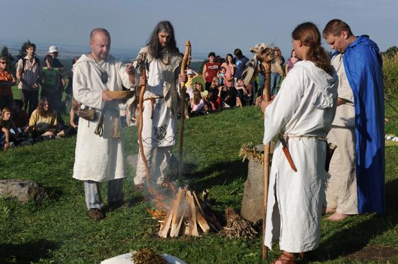Keltský festival Lughnasad v Nasavrkách