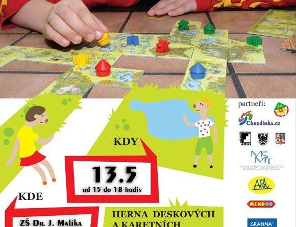 Plakát herny Hrajeme si s Chrudimkou - 13.5.2011
