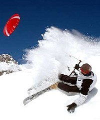 flexifoil snowkiting