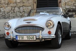 Setkání majitelů britských historických vozidel