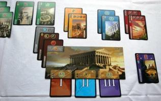 Karetní hra - 7 divů světa