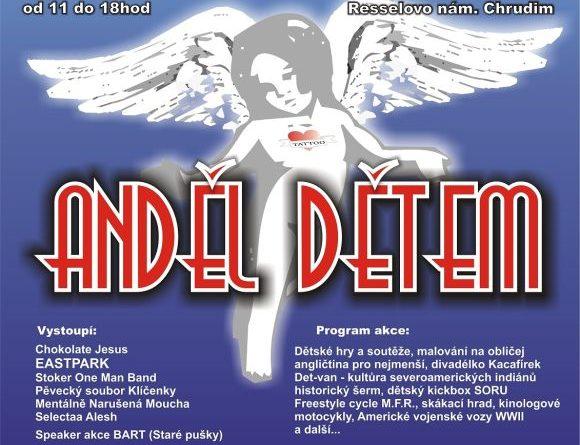 Benefiční akce - Anděl dětem