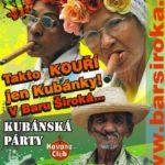 Kubánská párty v Baru Široká