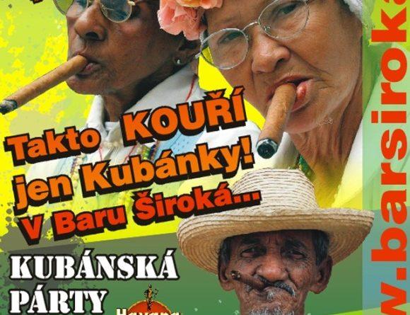 BAR ŠIROKÁ - Kubánská párty