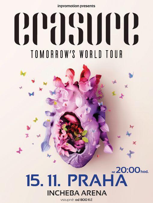 Erasure - Tomorrow's world tour
