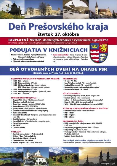 Den s PSK plakát