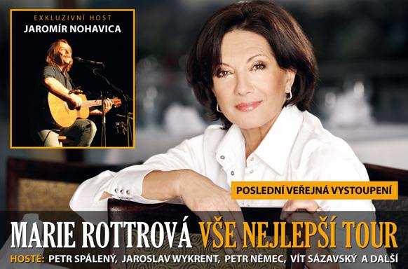 Marie Rottrová - Vše nejlepší Tour 2011