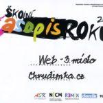 Školní časopis roku 2011: Bronz pro portál Chrudimka.cz