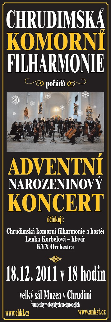 Adventní narozeninový koncert