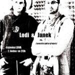 Lodi & Janek zahrají v Čajovně Luna