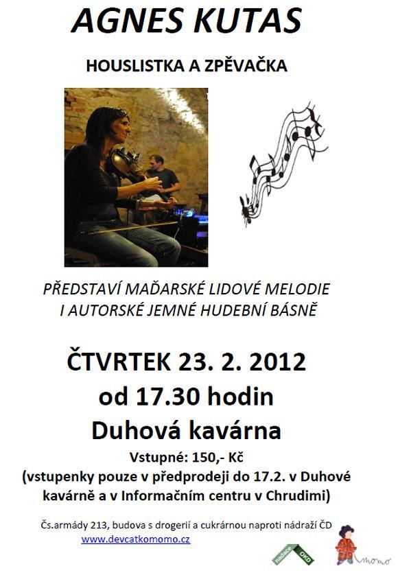 Maďarské lidovky v Duhové kavárně