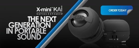 X-Mini KAI - přenosný Bluetooth reproduktor s mikrofonem