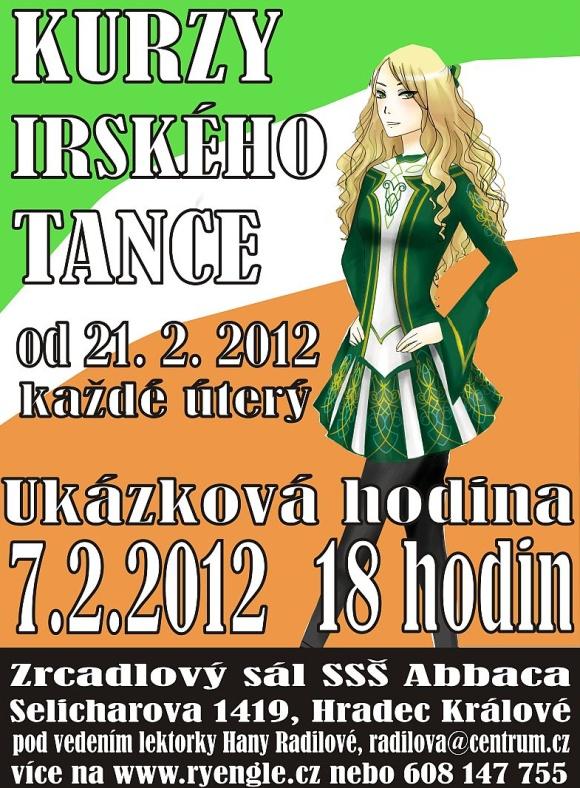 Kurz irských tanců v Hradci Králové