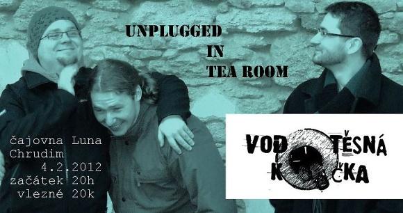 Vodotěsná kočka … unplugged in tea room