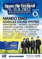 open air festival 2012