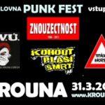 Punk fest v Krouně již v sobotu