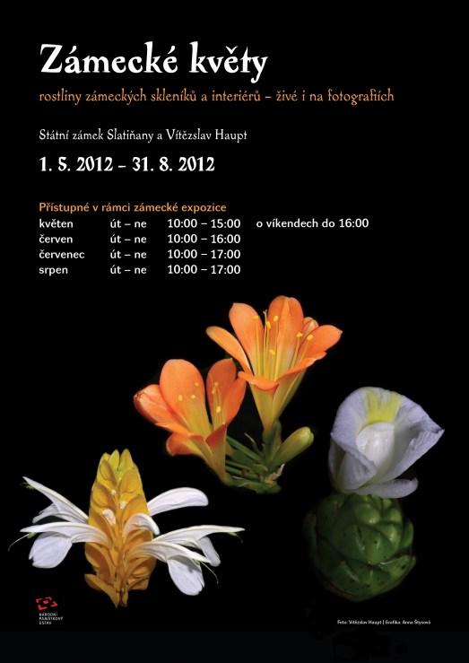 Zámecké květy - rostliny zámeckých skleníků a interiérů