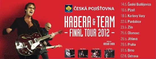 Habera TEAM FINAL TOUR - cz