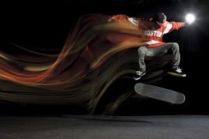 Skate skok
