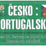 Česko – Portugalsko čtvrtfinálové utkání