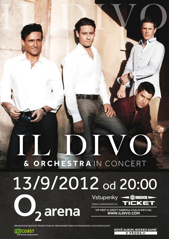 Il Divo plakát akce