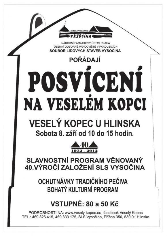 Posvícení na Veselém Kopci - Plakát