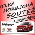 Hokejová sezóna začíná a s ní i soutěž s automobilem Kia