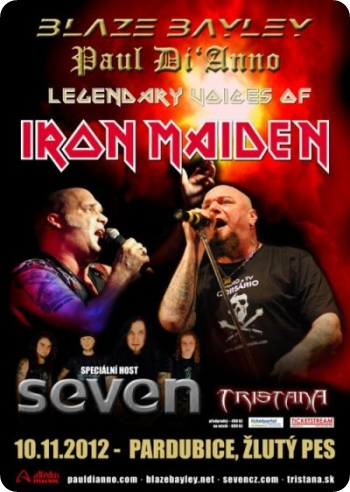 Legendary voices of IRON MAIDEN