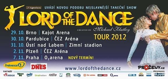 Lord of the Dance 2012 v novém kabátě
