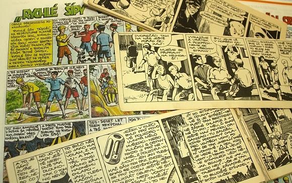 Český komiks oživí výstava v Litomyšli