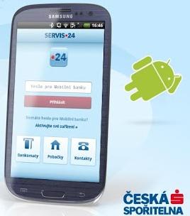 Česká spořitelna spustila mobilní banku pro Androidy