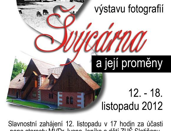 Švýcárna - plakát akce