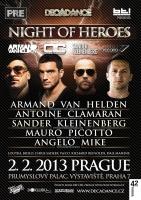 Night of heroes v Průmyslovém paláci