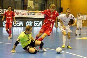 ERA-PACK vyhrál Mitropa Futsal Cup a pohár FAČR; foto: Ivana Hošková