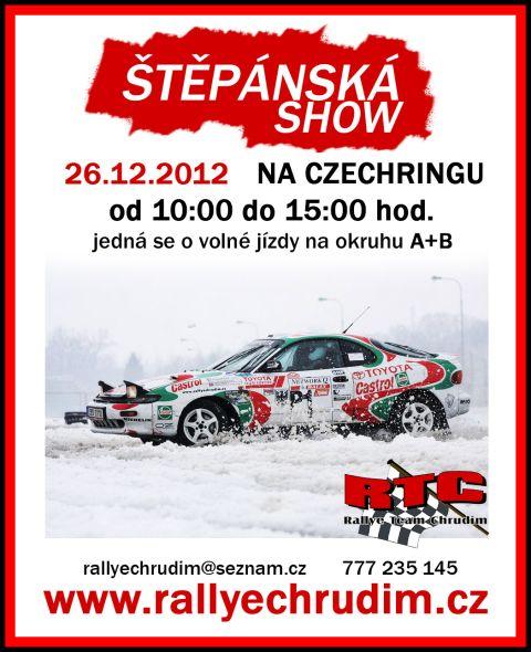 Štěpánská show