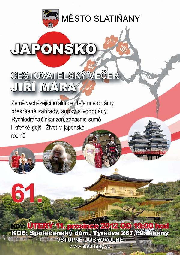 61. Cestovatelský večer - Japonsko