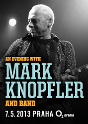 Kytarová legenda Mark Knopfler v Praze
