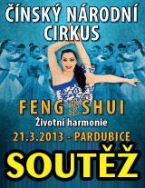 Vstupenky na Čínský národní cirkus do Pardubic