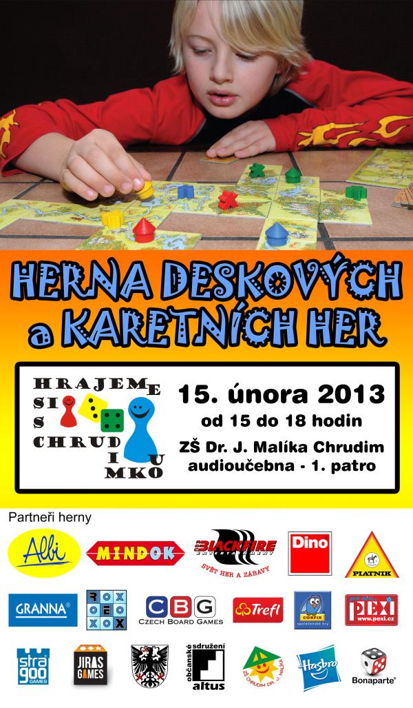 Plakát akce - 15. února 2013