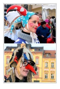 Masopustní jarmark v Chrudimi, foto: (c) 2008 Jaromír Zajíček www.FotoZajda.cz