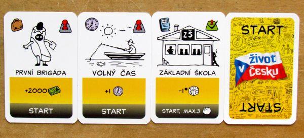 Recenze: Život v Česku - karetní hra o každém z nás