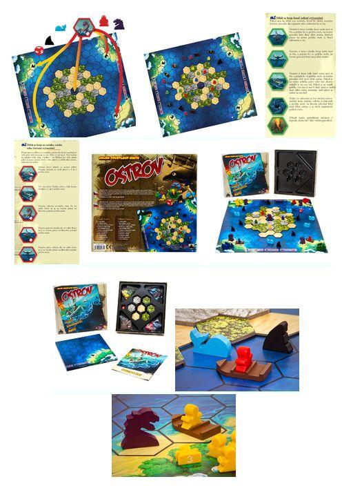 Tip na dárek - desková hra Ostrov