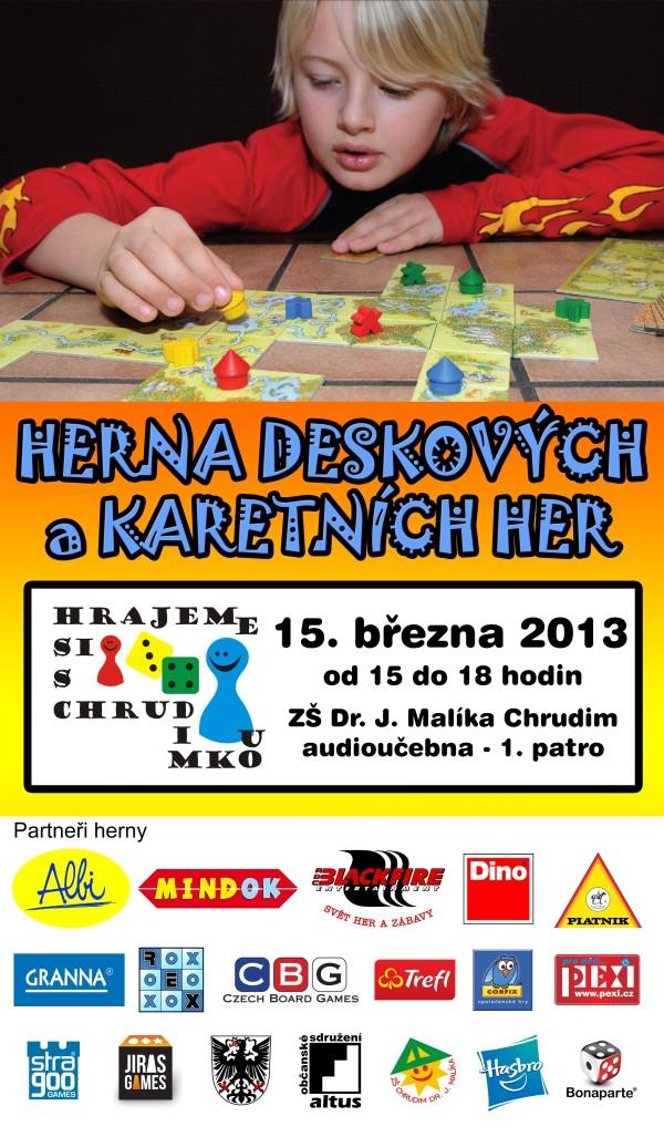 Herna 15. března 2013
