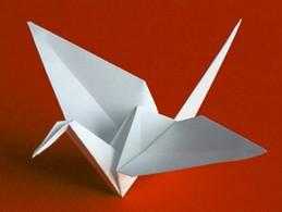 Orizuru - symbol míru a naděje