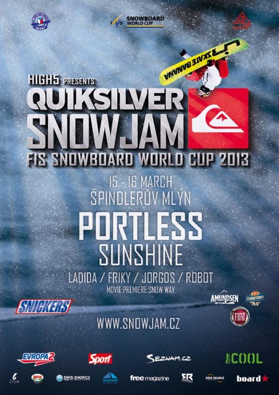 plakat Snowjam 2013