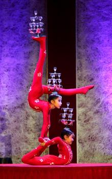 Čínský národní cirkus v pardubické ČEZ Areně