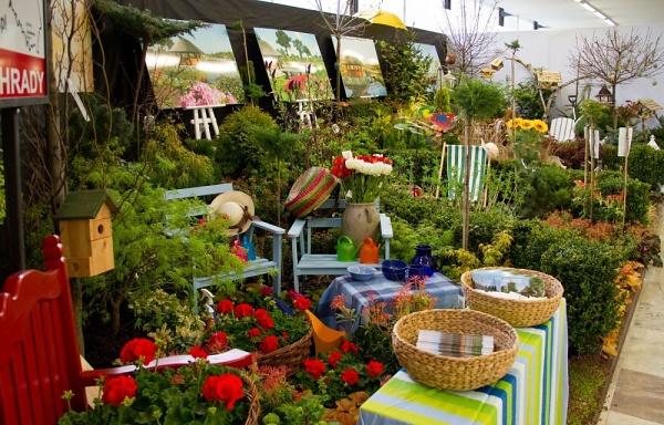 Jarní zahradnická Flora Olomouc 2013