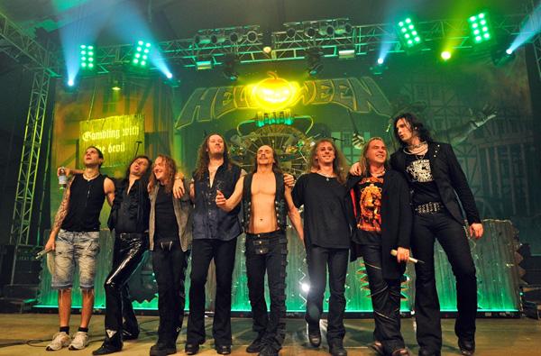 Helloween a Gamma Ray - peklo se vrací