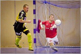 1. semifinálový zápas Chance futsal ligy; foto: Ivana Hošková